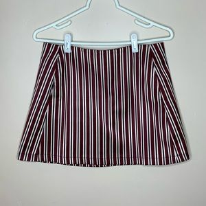 Urban Outfitters Striped Mini Skirt